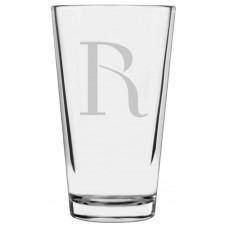 Monogrammed Celtic Libbey Pint Glass