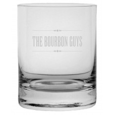 Bourbon Guys Rocks Whisky Glass