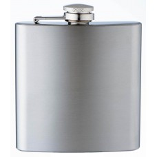 Custom Engraved 6oz Stainless Steel Flask