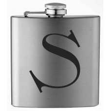 Monogrammed Celtic 6oz Stainless Steel Flask