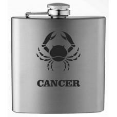 Zodiac Sign 6oz Stainless Steel Flask