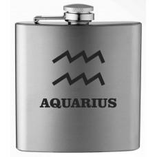 Zodiac Symbol 6oz Stainless Steel Flask