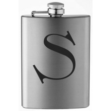 Monogrammed Celtic 8oz Stainless Steel Flask