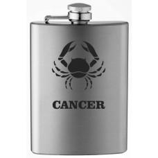 Zodiac Sign 8oz Stainless Steel Flask