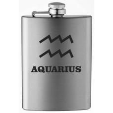 Zodiac Symbol 8oz Stainless Steel Flask