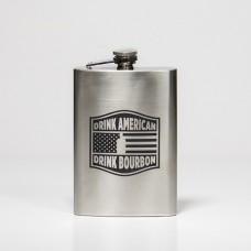 Bourbon & Banter 8oz Flask