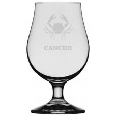 Zodiac Sign Themed Glencairn Crystal Iona Beer Glass