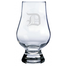 Monogrammed Old English Glencairn Whisky Glass