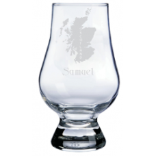 Personalized Scotland Glencairn Whisky Glass
