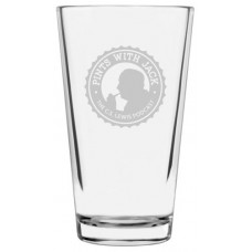 Pints With Jack Engraved Pint Glass