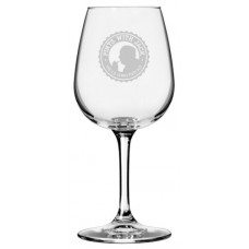 Pints With Jack Engraved 12.75oz Wine Glass