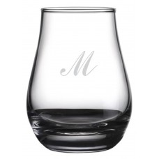 Monogrammed Commercial Script Spey Whisky Glass