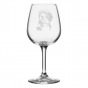 Dog Themed Wine Glass