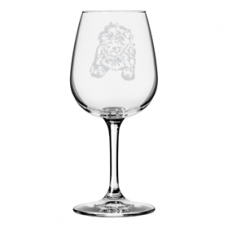 Dog Themed 12.75oz Wine Glass