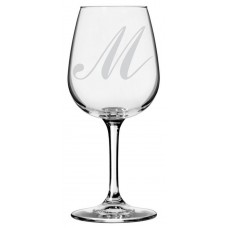 Monogrammed Commercial Script Libbey All Purpose Wine Glass